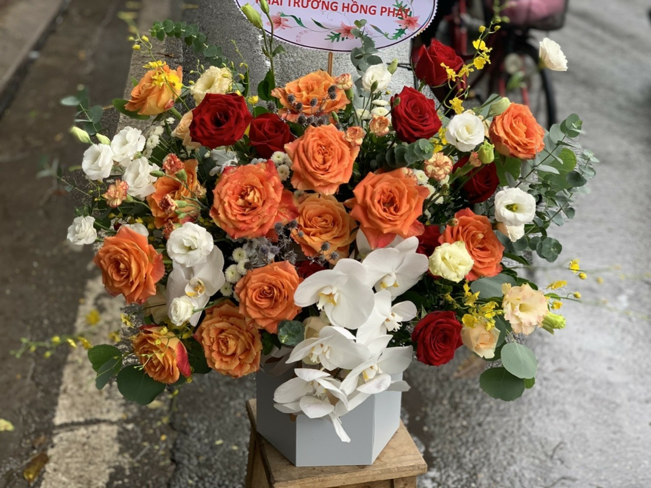 hoa tươi đường Lê Hồng Phong